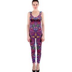 Kaleidoscope  One Piece Catsuit by Sobalvarro