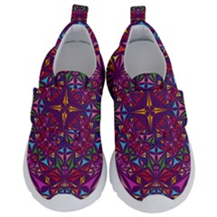 Kaleidoscope  Kids  Velcro No Lace Shoes by Sobalvarro