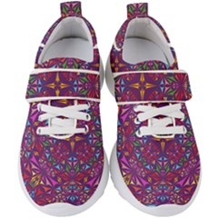 Kaleidoscope  Kids  Velcro Strap Shoes by Sobalvarro