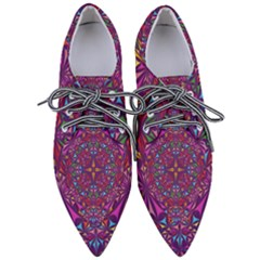 Kaleidoscope  Women s Pointed Oxford Shoes by Sobalvarro