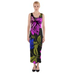 Botany  Fitted Maxi Dress by Sobalvarro