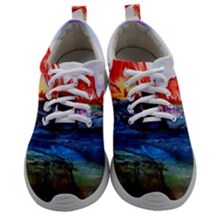 Fitzroy Argentina Chile Patagonia Mens Athletic Shoes by Wegoenart