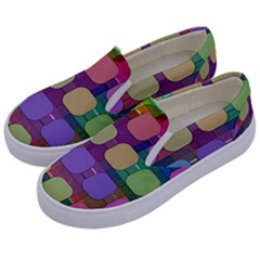 Pattern  Kids  Canvas Slip Ons by Sobalvarro