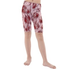 Abstract  Kids  Mid Length Swim Shorts by Sobalvarro