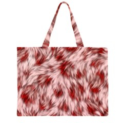 Abstract  Zipper Large Tote Bag by Sobalvarro