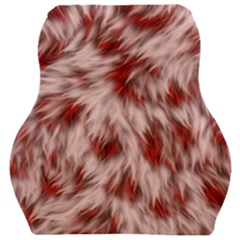 Abstract  Car Seat Velour Cushion  by Sobalvarro