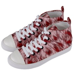 Abstract  Women s Mid Top Canvas Sneakers by Sobalvarro