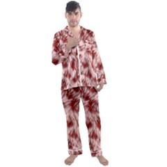 Abstract  Men s Satin Pajamas Long Pants Set by Sobalvarro