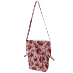 Abstract  Folding Shoulder Bag by Sobalvarro