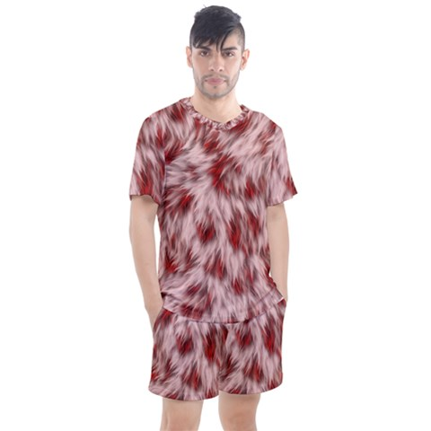 Abstract  Men s Mesh Tee And Shorts Set by Sobalvarro