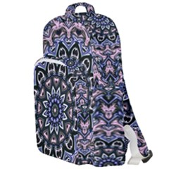 Background Kaleidoscope Abstract Double Compartment Backpack
