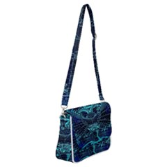 Zodiac Sign Astrology Horoscope Shoulder Bag With Back Zipper