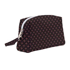 Pattern Texture Drawing Wall Wristlet Pouch Bag (medium)