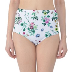 Leaves Classic High-waist Bikini Bottoms by Sobalvarro