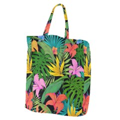 Tropical Greens Giant Grocery Tote by Sobalvarro