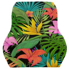 Tropical Greens Car Seat Back Cushion  by Sobalvarro