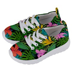 Tropical Greens Kids  Lightweight Sports Shoes by Sobalvarro
