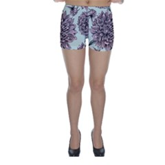 Flowers Skinny Shorts by Sobalvarro