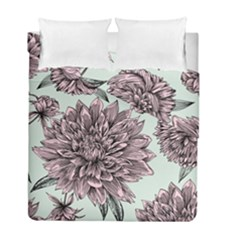 Flowers Duvet Cover Double Side (full/ Double Size) by Sobalvarro