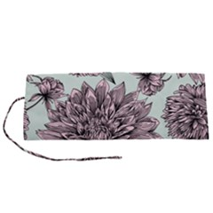 Flowers Roll Up Canvas Pencil Holder (s) by Sobalvarro