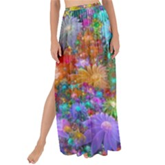 Apo Flower Power  Maxi Chiffon Tie-up Sarong by WolfepawFractals