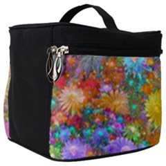 Apo Flower Power Make Up Travel Bag (big) by WolfepawFractals