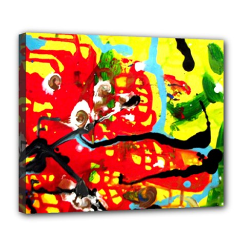 Hot 1 1 Deluxe Canvas 24  X 20  (stretched) by bestdesignintheworld