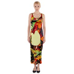 City 1 1 Fitted Maxi Dress