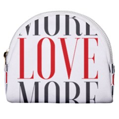 More Love More Horseshoe Style Canvas Pouch by Lovemore