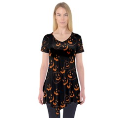Jack O Lanterns Short Sleeve Tunic