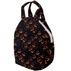 Jack O Lanterns Travel Backpacks by bloomingvinedesign