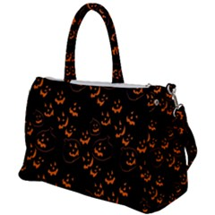 Jack O Lanterns Duffel Travel Bag by bloomingvinedesign