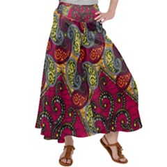 African Print Satin Palazzo Pants by ThatsWraps
