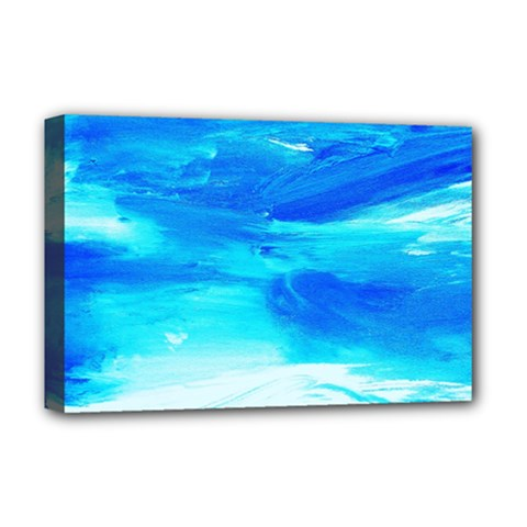 Sky 1 1 Deluxe Canvas 18  X 12  (stretched) by bestdesignintheworld