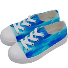 Sky 1 1 Kids  Low Top Canvas Sneakers by bestdesignintheworld