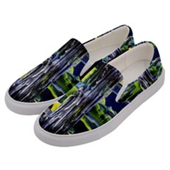Between Two Moons 7 Men s Canvas Slip Ons by bestdesignintheworld