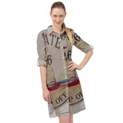 Balboa 1 1 Long Sleeve Mini Shirt Dress