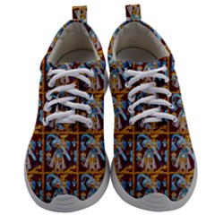Aztec 8 Mens Athletic Shoes by ArtworkByPatrick