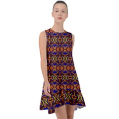 Abstract 33 Frill Swing Dress