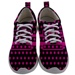 Polka Dots Two Times 8 Black Mens Athletic Shoes by impacteesstreetwearten
