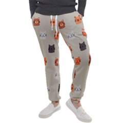 Cat Faces Pattern Men s Jogger Sweatpants