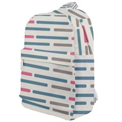 Long Lines Vector Pattern Classic Backpack by Vaneshart