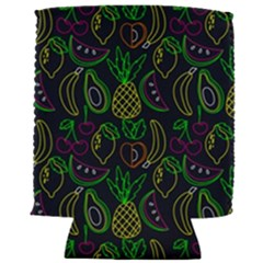 Neon Fruit Seamless Pattern Can Holder