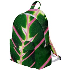 Exotic Green Leaf The Plain Backpack