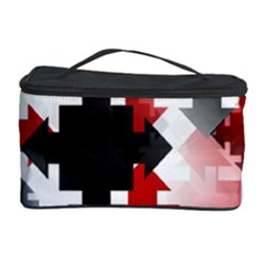 Black And Red Multi Direction Cosmetic Storage by Vaneshart