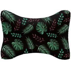 Tropical Leaves Pattern Seat Head Rest Cushion