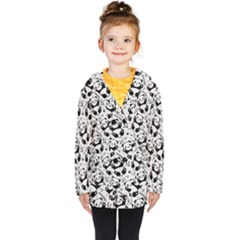 Panda Pattern Kids  Double Breasted Button Coat by Vaneshart