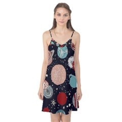 Space Galaxy Pattern Camis Nightgown