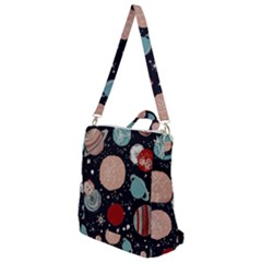 Space Galaxy Pattern Crossbody Backpack