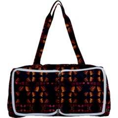 Christmas Bells Background Multi Function Bag by Vaneshart